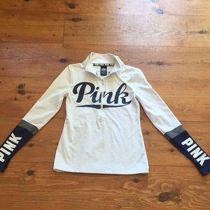 Victoria's Secret PINK 1/2 zip